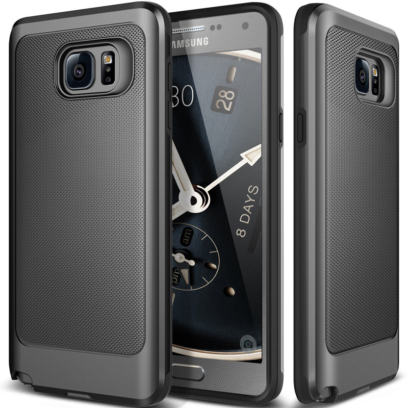 For Samsung Galaxy Note 4 / Note 5 Case Dirt-Resistant Soft TPU Hard PC 2 in 1 Back Cover for note4 / note5  Mobile Phone Cases