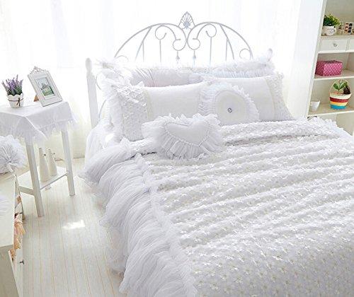 flor de cerezo romntico cubierta de cama cama en una bolsa de ropa de cama de