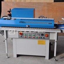 Малый размер линейного деревообрабатывающее оборудование BJF115 полуавтоматическая кромкооблицовочная машина для ПВХ