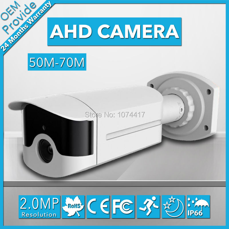 AHD4200LH privately-owned model 4 Big Led 1080P 2.0MP High Definition AHD Camera With Good Day and Night Vision ahd4100lh te 4 big led 720p high definition ahd 1 0mp good night vision outdoor 70m cctv ahd surveillance camera with big lens