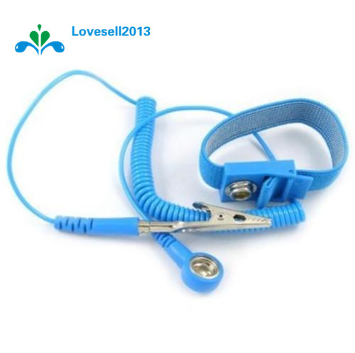 Power Tool Accessories Cordless Wireless Clip Antistatic Anti Static Esd Wristband Wrist Strap Discharge Cables For Electrician Ic Plcc Worke Back To Search Resultstools