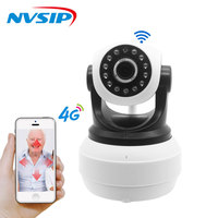3G 4G Sim Card Camera 720P/960P HD P2P Network Wireless Wifi IP Camera Home Security Remote Control Motion Detection Alarm PTZ