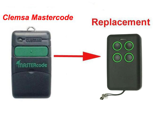 1pcs Free shipping Clemsa Mastercode MV1 Cloning Remote Control Replacement 433MHZ free shipping