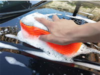 Car wash sponge extra large cleaning decontamination special high density cotton strong brush car water absorption large