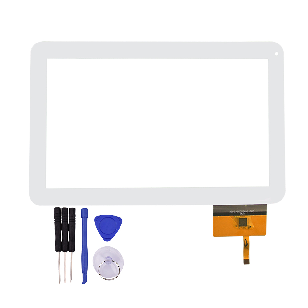 все цены на White 10.1 inch Tablet Touch Screen For AD-C-100050-1-FPC 141-C Panel Glass Digitizer Replacement Free Shipping онлайн