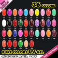 #20204  36 colors/set Pure Color Gel Systerm Profession Gel Paint Gel Lacquer Kit