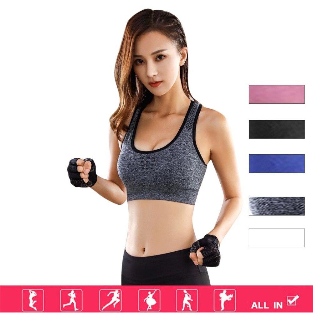 Begeistert Frauen Hohe Festigkeit Sport Yoga Lauf Bh High Impact Tasche Yoga Bhs Pushup Fitness Gymtops Jogging Workout Büstenhalter Neue Sport & Unterhaltung