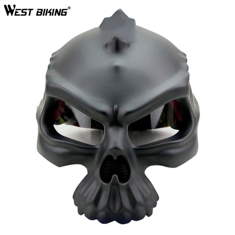 WEST BIKING Double-Sided Wearable Cycling Helmet Skeleton Helmets With Brim MTB Bicycle Ultra-light Outdoor Sport Safety Helmet