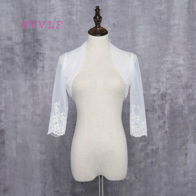 2018 Warm Faux Fur Long Sleeve Ivory Bolero Wedding Wrap Shawl Bridal Jacket Accessories