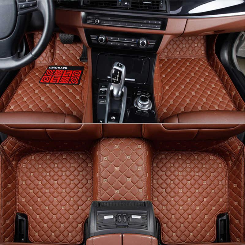 שטיחי רצפת מכונית עבור סובארו פורסטר Legacy BRZ Outback טרייבקה מורשת xv אימפרזה פורסטר רכב סטיילינג Custom אוטומטי רגל מחצלות