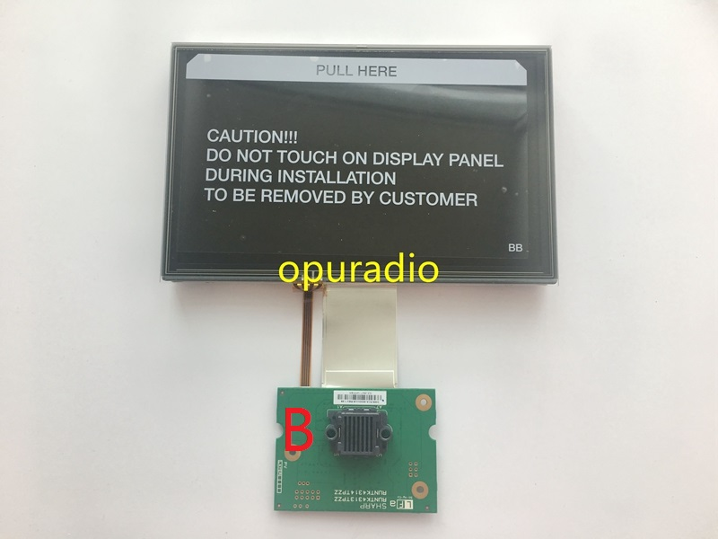 US $81 0 10% OFF OEM original new 8 0inch LCD Display with touch screen PCB  complete screen for Ford Sync2 Car DVD Navigation Audio-in Screens from