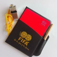 Coach use Football Referees Soccer and Other Sports Professional Equipment Scorebook + Metal Whistle