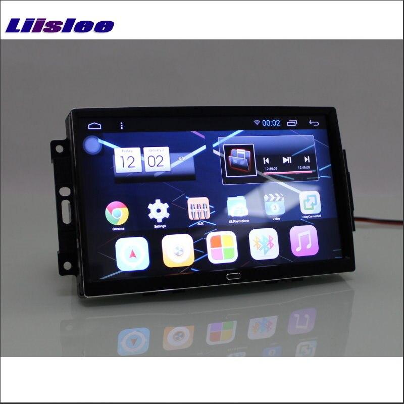 Liislee автомобиля Android 6,0 GPS навигации мультимедиа для JEEP Commander 2007 ~ 2008 Радио HD экран Аудио Видео (без CD DVD плеер)