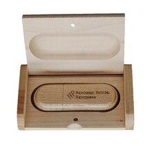 Экологичные деревянные USB флешки 8 ГБ 16 ГБ 32 ГБ карта памяти мини флеш-диск USB 2,0 флешки бесплатный логотип более 20 шт
