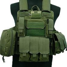 Тактический Жилет Molle CIRAS Airsoft Боевой Жилет W/чехол для журналов разъемная Броня пластина Перевозчик Strike жилеты охотничья одежда снаряжение