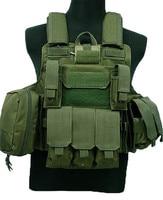 Tactical Vest Molle CIRAS Airsoft Combat Vest W/Magazine Pouch Releasable Armor Plate Carrier Strike Vests Hunting Clothes Gear
