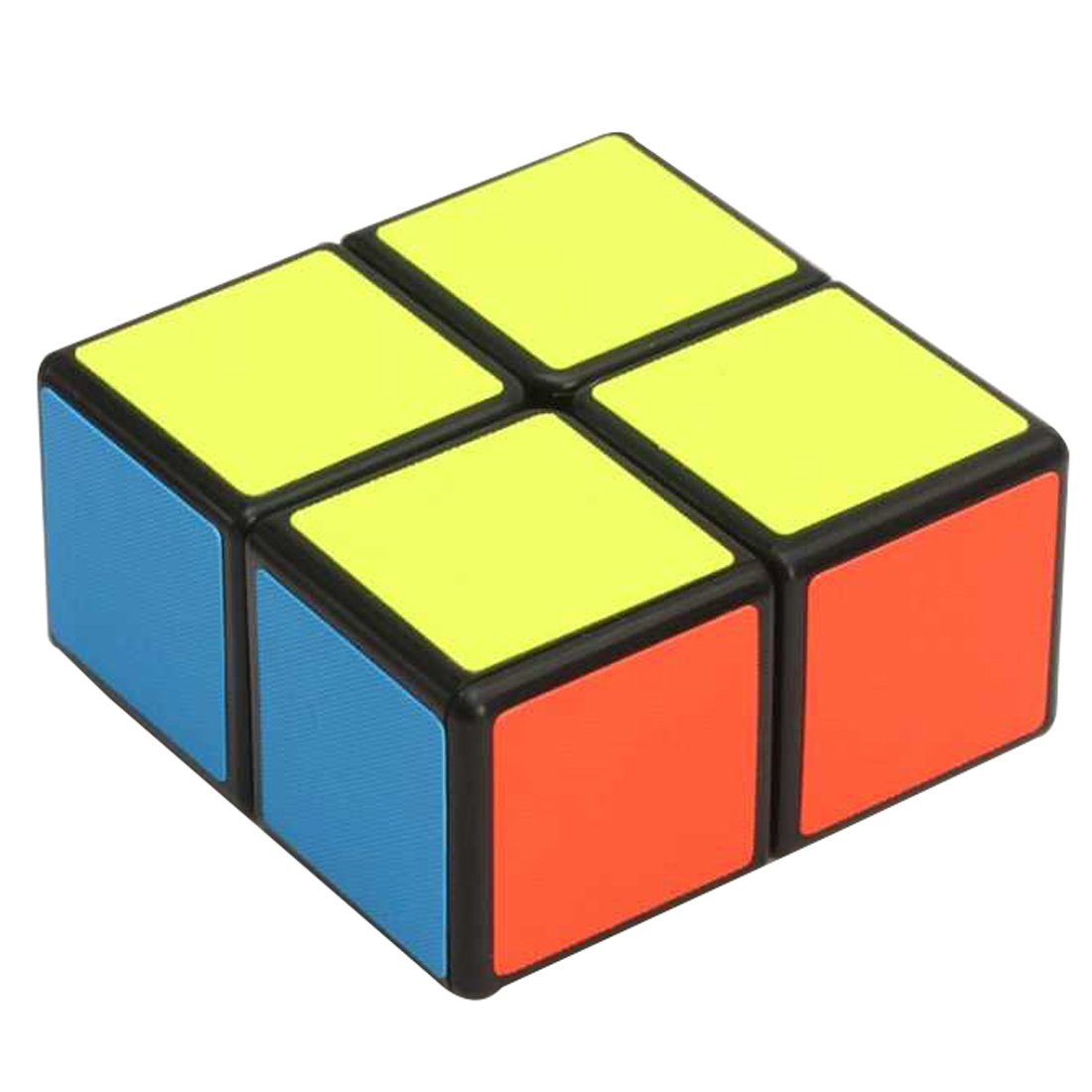 Zcube 122 Magic Cube 1x2x2 Speed Cube Puzzle Toy - Black / White