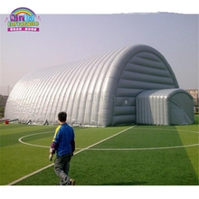 Factory Price 25*14M Outdoor Giant Inflatable Winter Camping Tent Inflatable Party Tent Event Tent for Sale