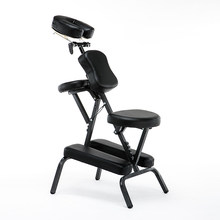 Folding Adjustable Tattoo Scraping Chair folding massage chair portable tattoo chair folding beauty bed(China)