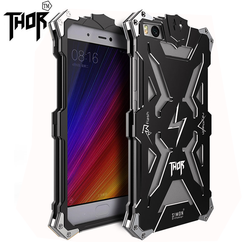 Fashion Simon for xiaomi 5s Shockproof Metal Thor Ironman Protect Cases xiaomi 5s Phone Cover Case