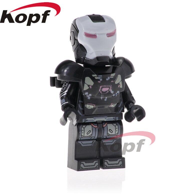 20Pcs PG1572 Super Heroes War Machine Ebony Maw Doctor Strange Building Blocks Bricks Doll Action Figures For Children Gift Toys