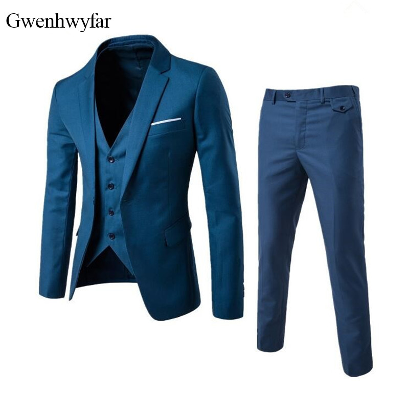 Gwenhwyfar Luxurious Jacquard Men Suit Prom Tuxedo Slim Fit 2 Piece Groom Wedding Suits For Men