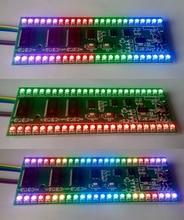 5 V RGB MCU Display Regolabile Modello Dual Dual Channel 24 indicatore di livello A LED spedizione gratuita