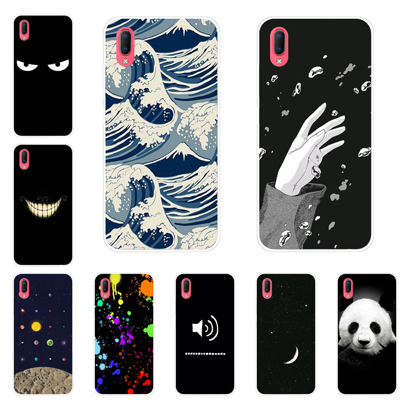 Vivo Y93 Y9S Case,Silicon Space imagine Painting Soft TPU Back Cover for Vivo Y93 Y9S Phone protect Bags shell