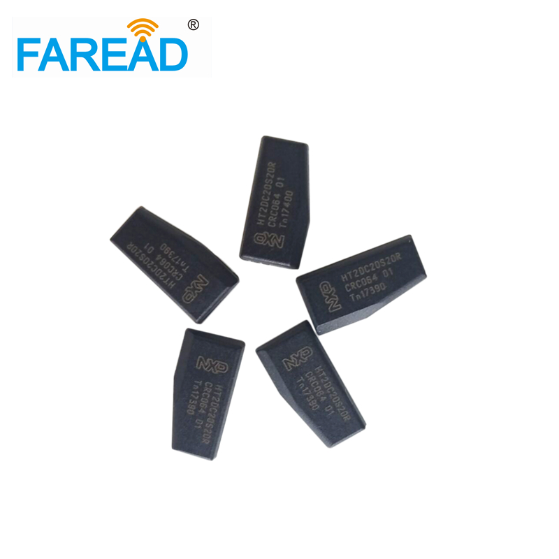 Hot Sale 125khz X50 Pcs Car Key Chips Transponder Chip Carbon ID46 Blank 7936AS Chip