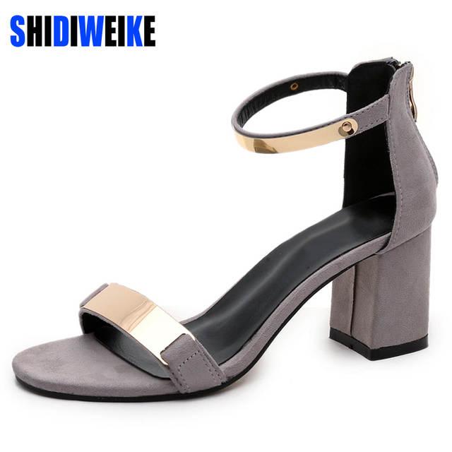 ... Temukan Harga dan Penawaran Online Terbaik. Source · SHIDIWEIKE Ladies  Shoes 2018 Summer Gladiator Sandals Women High Heels Sandals Party Wedding  Shoes ... 87d69209cd