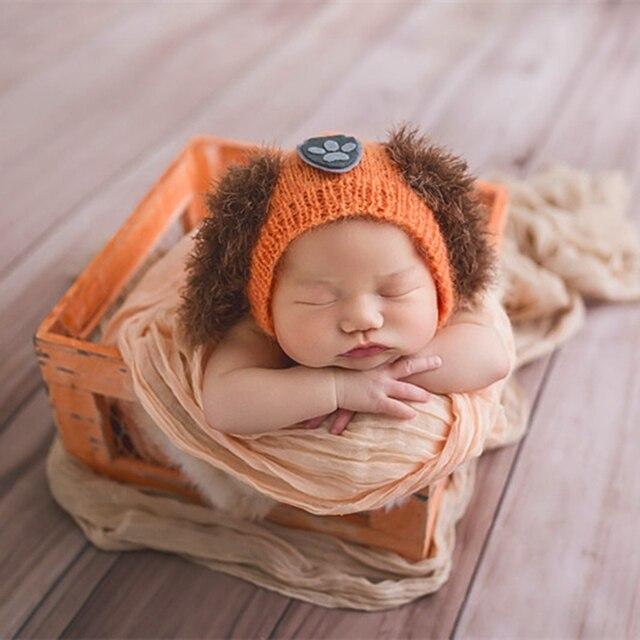 Kitting sombreros patrón recién nacido perrito capó animal ...
