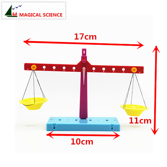 Wholesale Plastic Educational Lever Principle Balance Scale Experiments Diy Material Physics Teaching For Kids Students #3