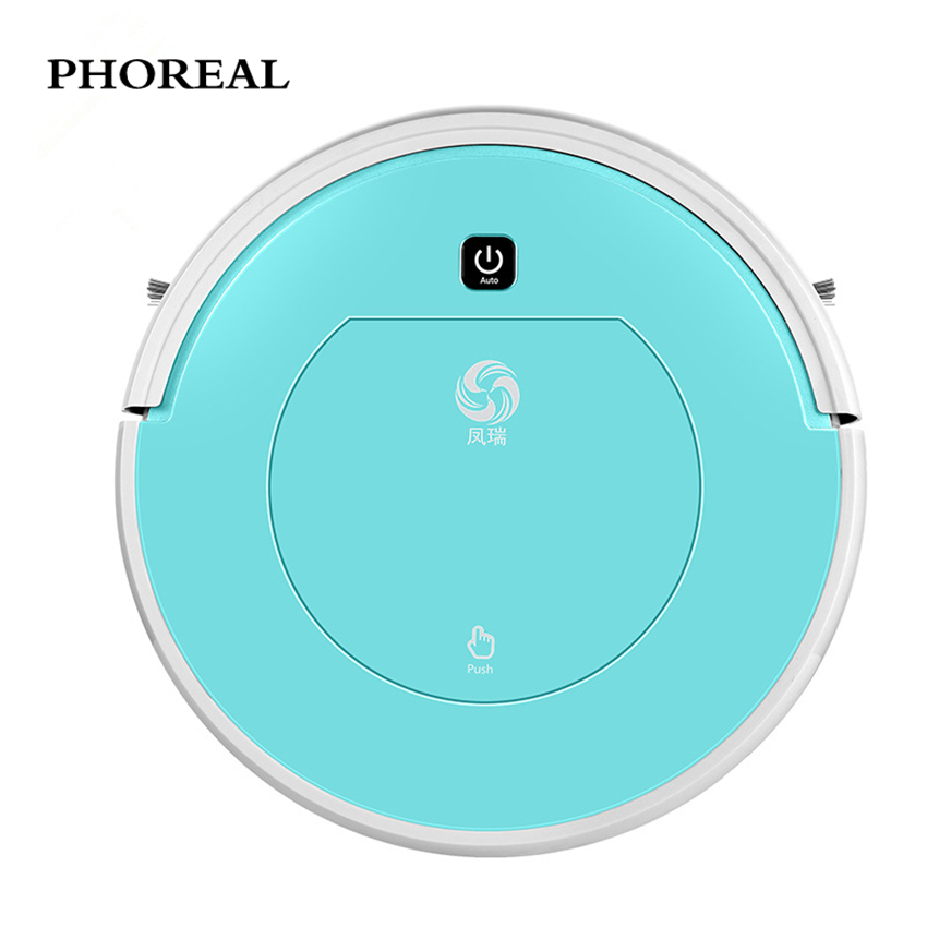 robot vacuum cleaner PHOREAL FR-601 110-240V vacuum cleaner for home 1000 pa suction vacuum cleaner Wet And Dry and Mopping wet and dry vacuum cleaner 80w rechargeable wireless home car vacuum cleaner brush mites killer