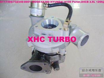 Nuevo GT1749S/732340 28200-4A350 Turbo turbocompresor para HYUNDAI H100 Porter D4CB 2.5L 120HP 03-