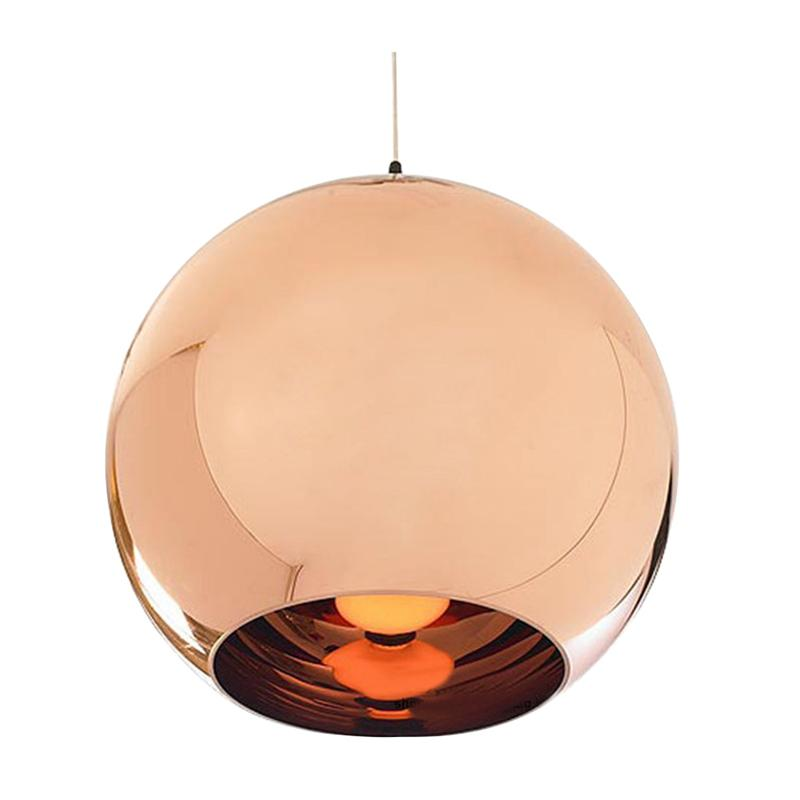 Glass Globe Chandelier Originality Electroplated Ball Chandelier Hanging Lights Ceiling Lamp for Restaurant Living Room