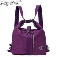 J BG PinK Hot Women Shoulder Bag Casual Nylon Female Handbag Shopping Messenger Bags Fashion Handbags