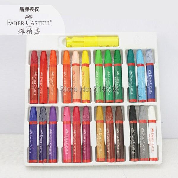 b363d84dd598 Cheap Faber castell 24 colores pastel de aceite para niños y pintura  profesional, colores suaves