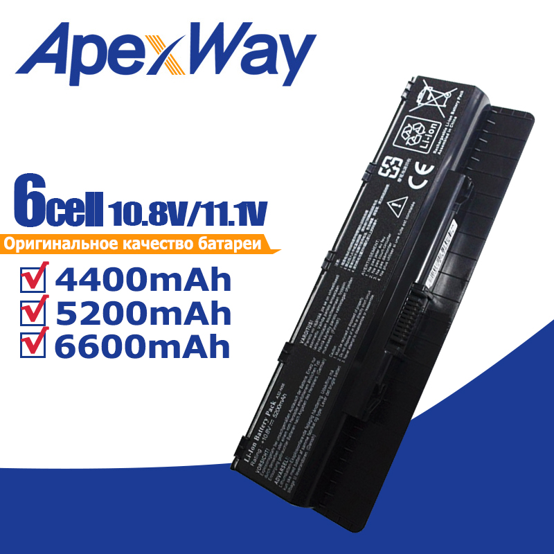 11.1v Laptop Battery New A32-N56 For Asus A31-N56 A33-N46 N56 G56 G56J G56J G56JR N46 N46J N46JV N46V N46VB N46VJ N46VM