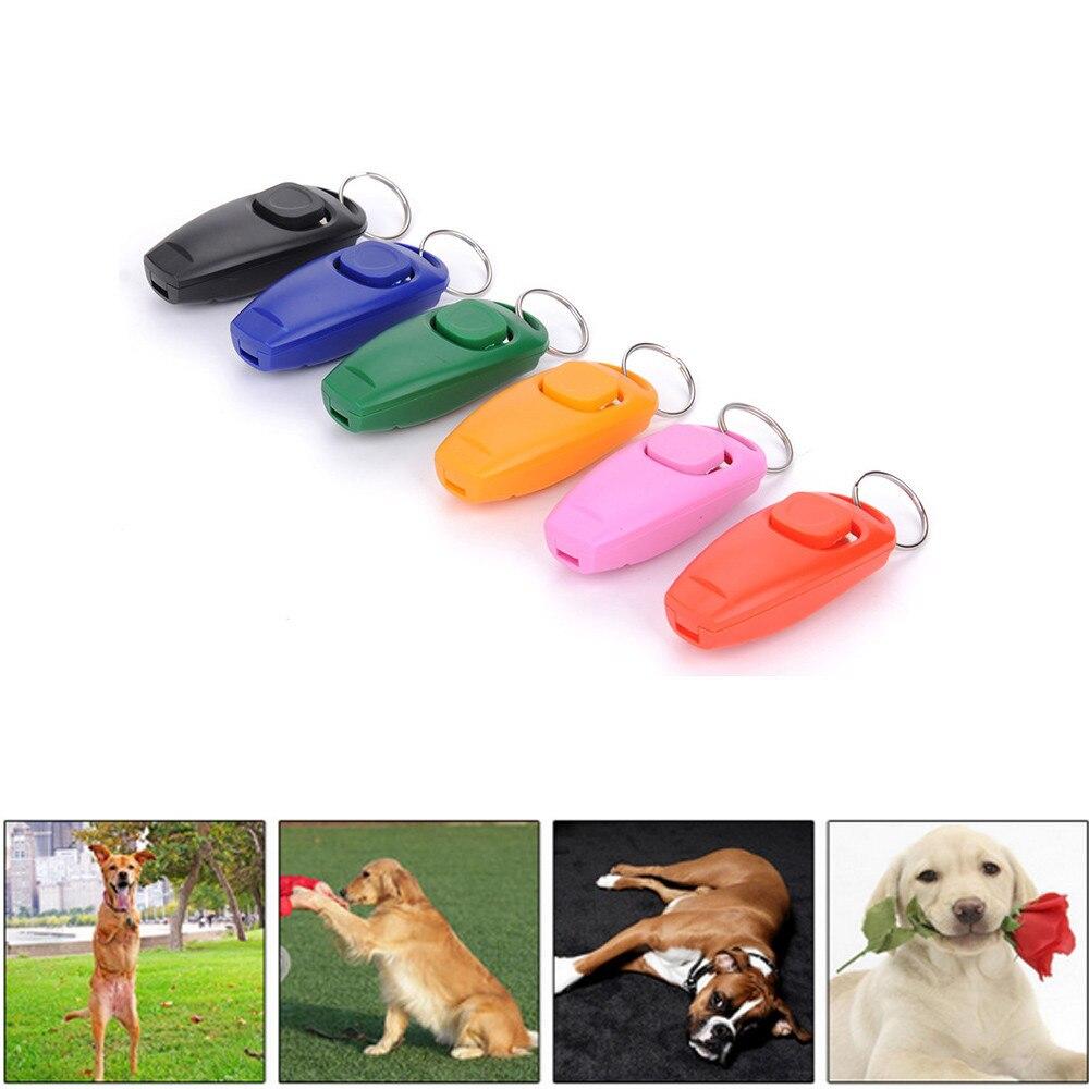 2017 1 St Hond Pet Klik Clicker Training Gehoorzaamheid Agility Training Hulp Fluitje Nieuwe #01 Geurig Aroma