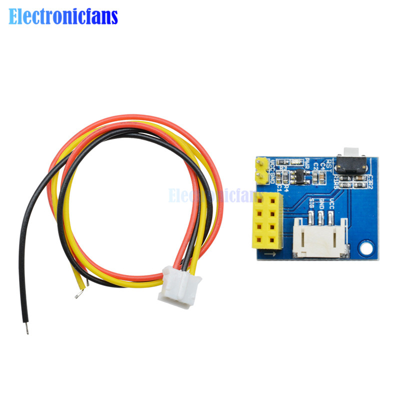 Esp8266 Esp-01 Esp-01s Rgb Led Controller Adapter Module For Arduino Ide Ws2812 Light Ring Smart Electronic Christmas Diy Dc 5v Aromatic Character And Agreeable Taste Electronic Components & Supplies