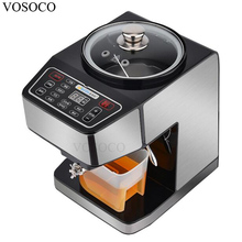 VOSOCO Oil pressing machine electric oil mill full automatic family small intelligent stainless steel hot and cold pressing bake