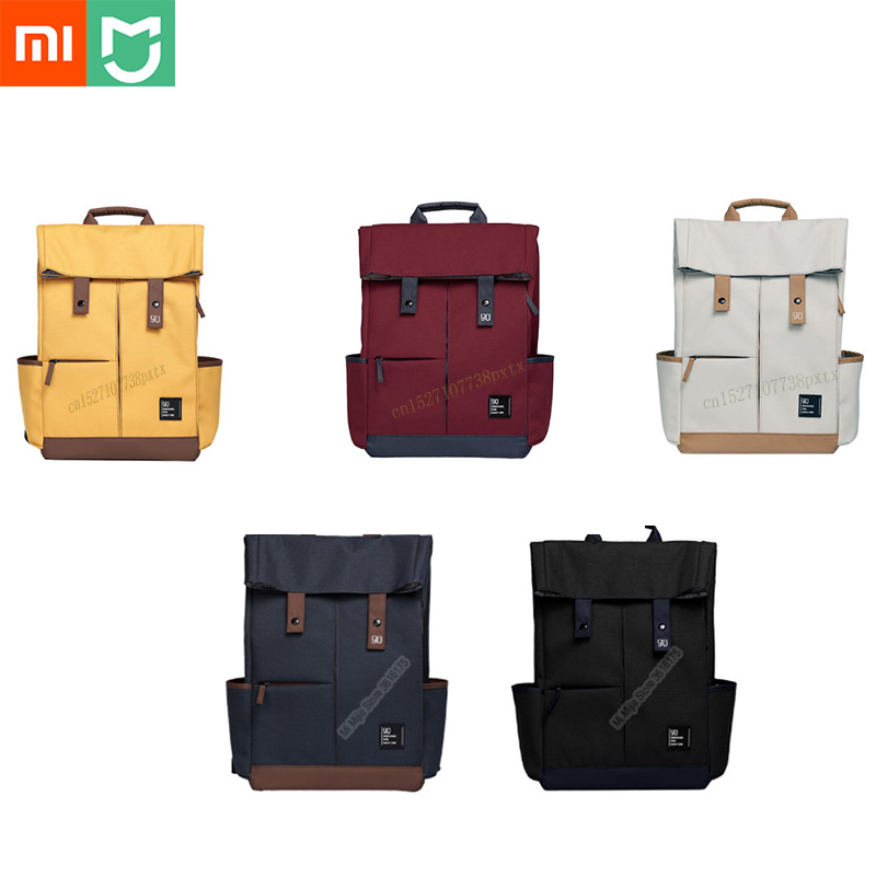Xiaomi 90fun College Leisure Backpack Ipx4 Water Repellent 13L Large Capacity Knapsack Unisex Fashion 14 15