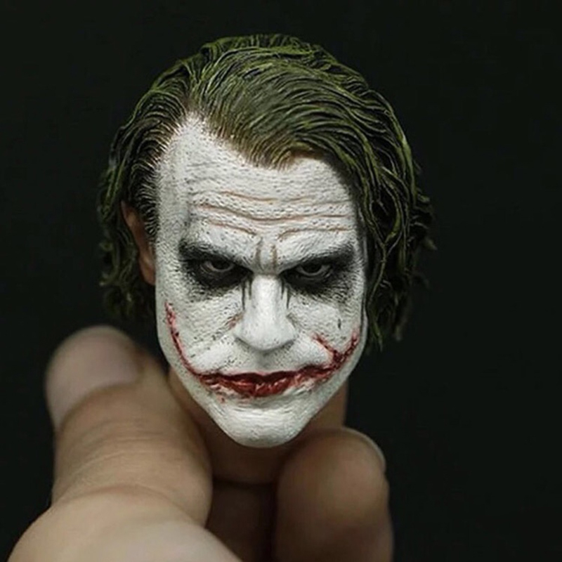 1/6 Scale The Batman Joker Head for 12'' Male Bodies