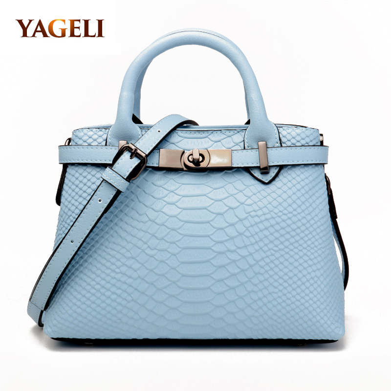 Genuine leather women's handbag luxury design lady leather handbags fashion women shoulder bags brand female totes bag 2018 women luxury brand design bags genuine leather handbags elegant style sheep skin crossbody bag fashion totes bolsa female