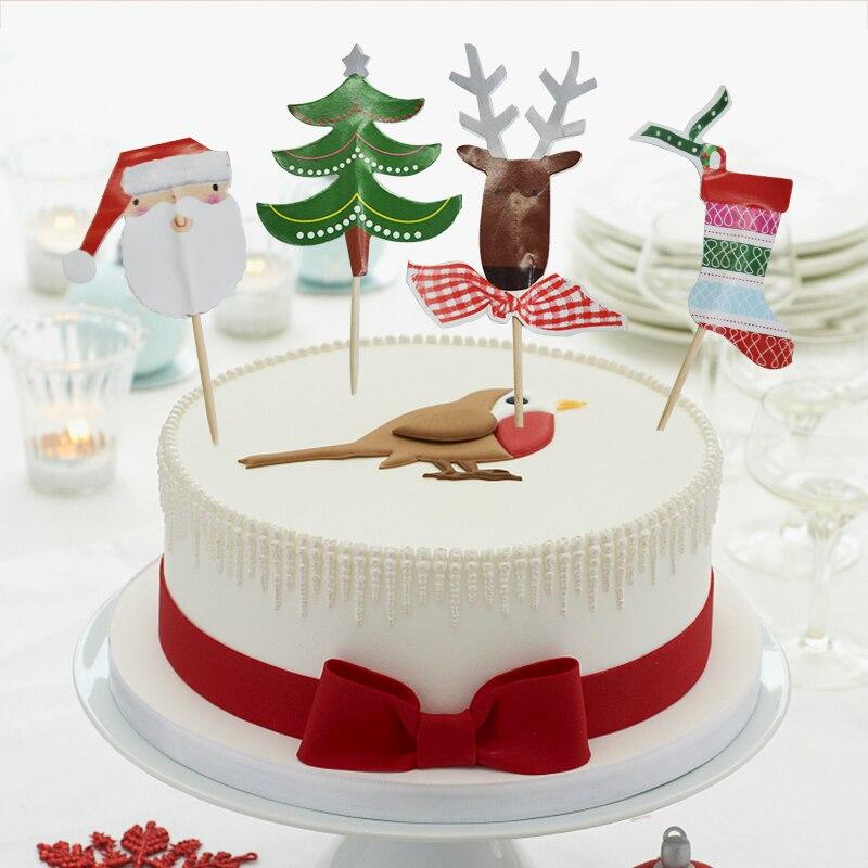 Christmas Buffet Decorating Kit  8 Ct Picks Signs