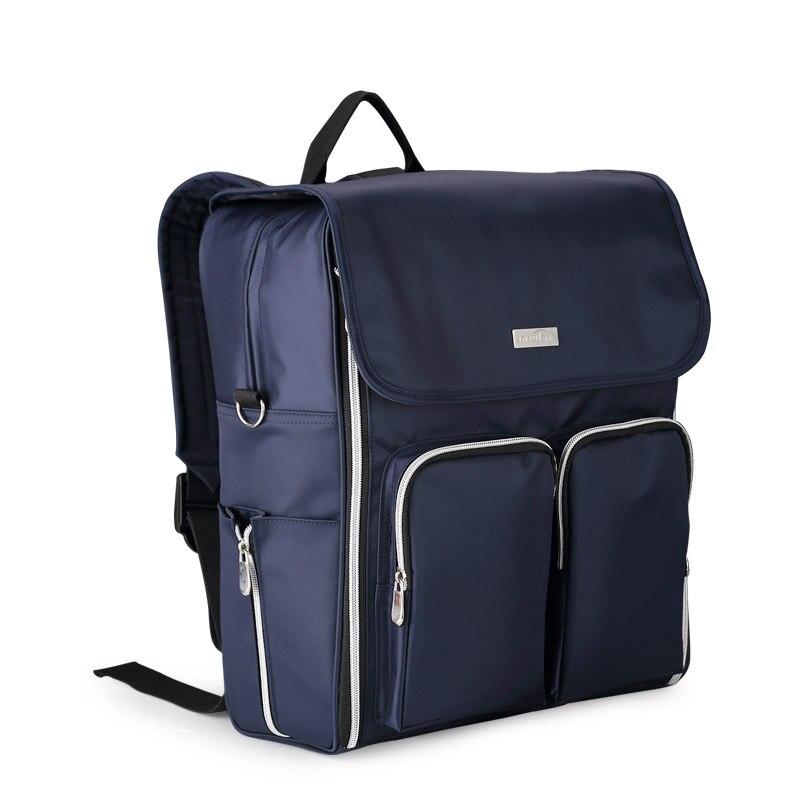 купить Insular Diaper Bag Storage Nappy Bags Designer Baby Bag Multifunction Mother Baby Carriage Bag Large Capacity Maternity Backpack по цене 2476.47 рублей