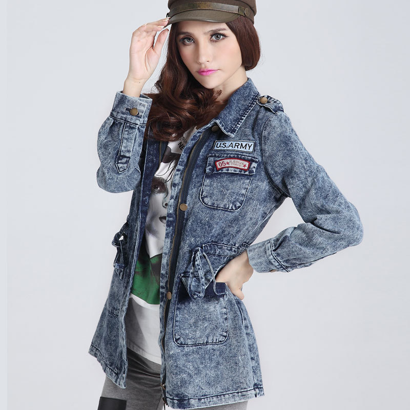 Online Buy Wholesale cropped jean jackets for women from China ...