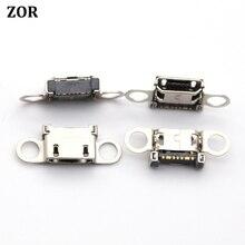 500 ピース/ロットサムスン S6 S6 エッジ S6 エッジ + プラス充電ドックポート USB 充電器コネクタジャックソケット G920 g920F G925 G928