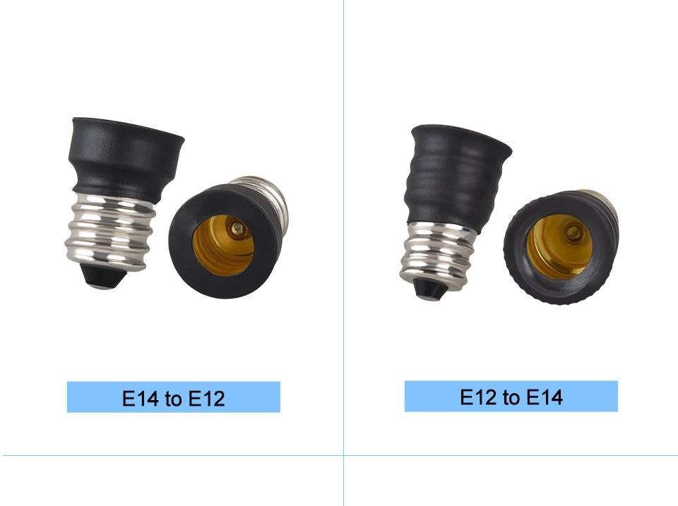 lamp holder base E27 to E14 B22 (7)