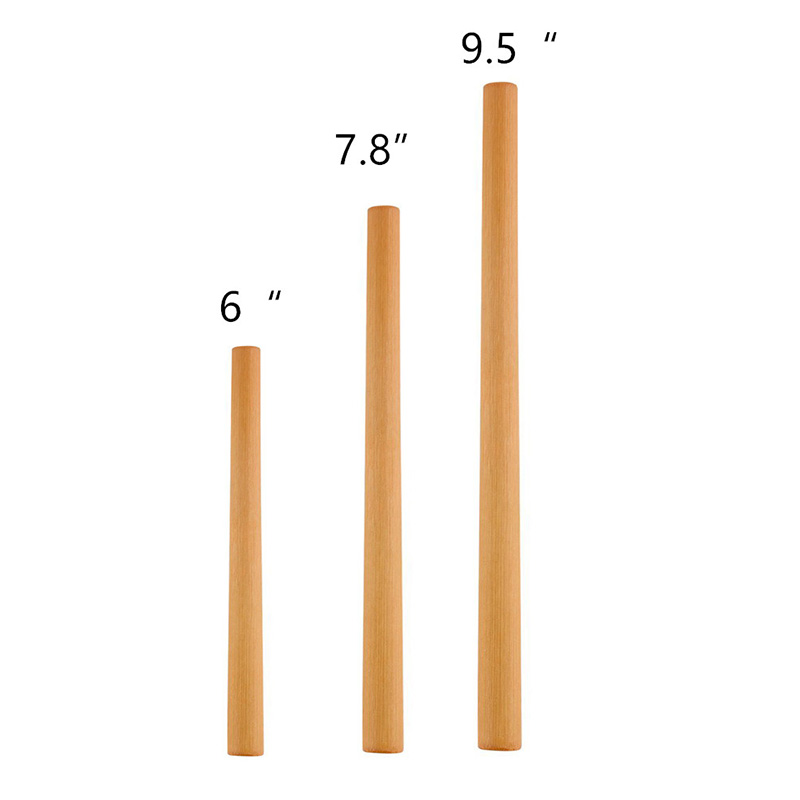 12PCS Eco Friendly Bamboo Straw Bag Bar Accessories Reusable Straw Brush Reusable Drinking Straws Cocktail Wedding Decoration in Drinking Straws from Home Garden